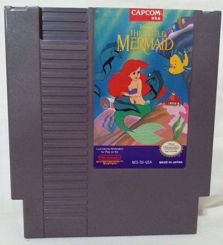 DISNEY's THE LITTLE MERMAID (Nintendo Entertainment System, 1991) NES video game