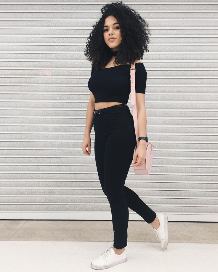 The 25 Best All Black Outfits Tumblr Ideas On Pinterest All Black Backpack Womens Converse