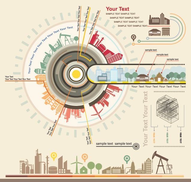 97 best Infographics Vector images on Pinterest Info graphics - new robot blueprint vector art