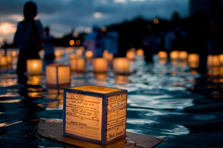 Floating Lantern Festival, Hawaii, USA