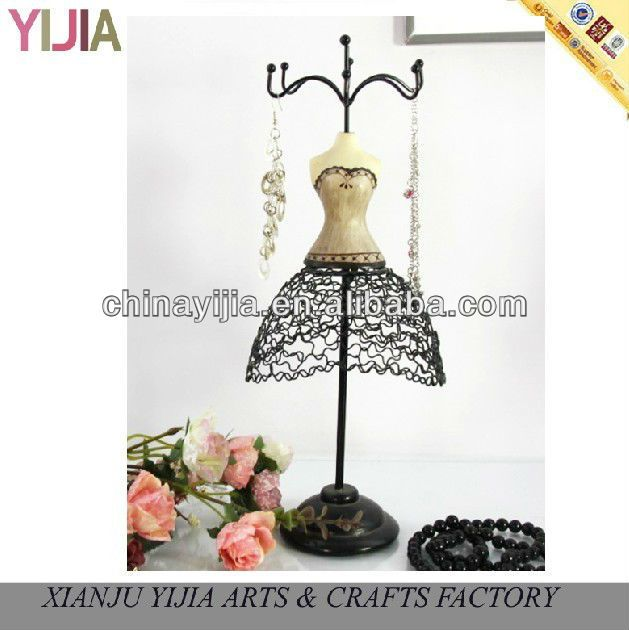 finest new lady jewelry mannequins for decorative dress forms earring stand mannequin black ring. Black Bedroom Furniture Sets. Home Design Ideas