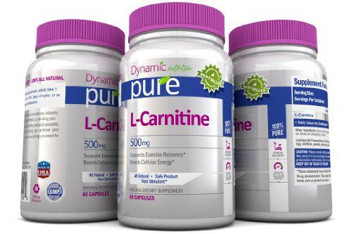 L Carnitine Pure Essential Amino Acids Best Selling Supplement Promotes Fatty Acid Metabolism, Helps the Body Convert Food to Energy Providing Support for Endurance Exercise. 100% All Natural Non Gmo, GMP Certified, USA Made, 1000mg Daily!