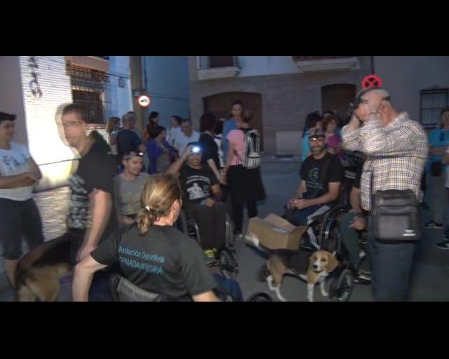 Viernes 20 de Mayo - Churriana de la Vega  Ruta nocturna de senderismo inclusivo por la vega.