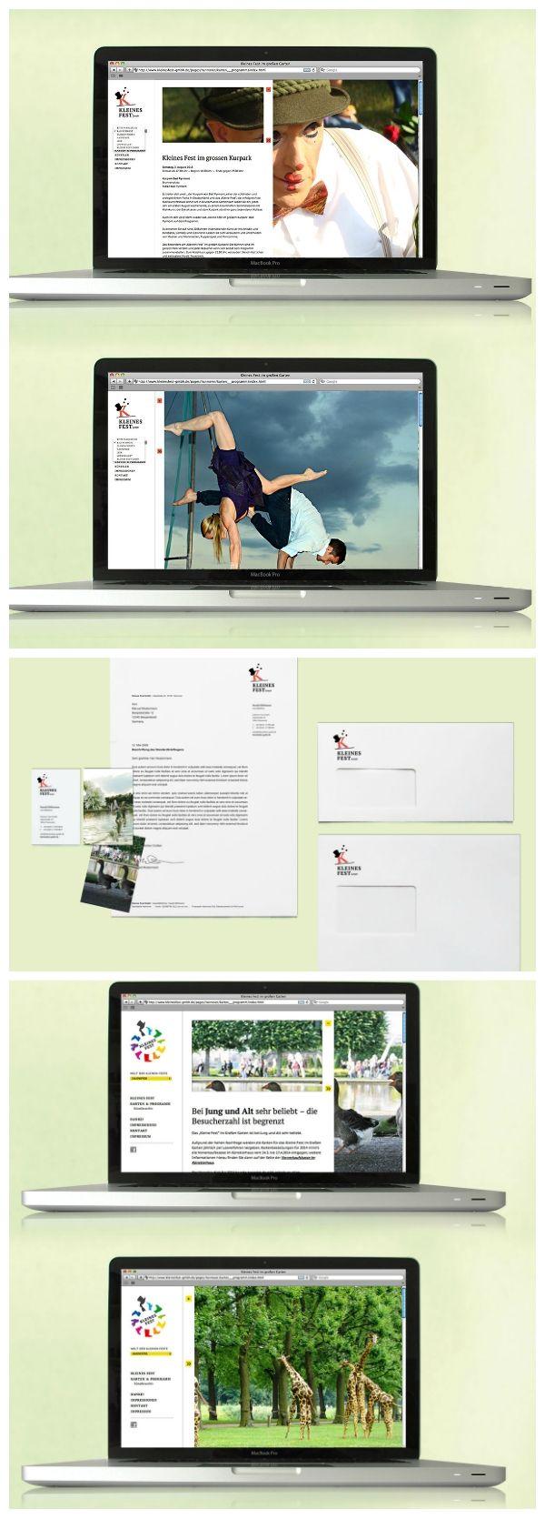 Kleines Fest im Großen Garten Corporate Design und Internetauftritt 2013