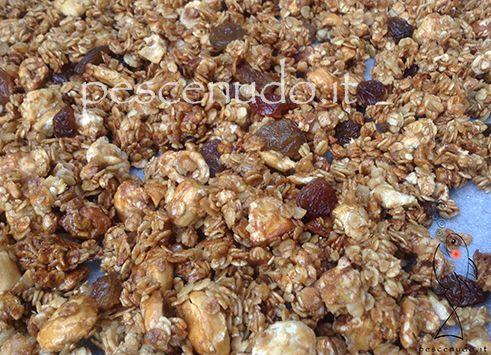 ricetta granola