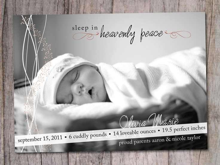 17 best ideas about Christmas Birth Announcements – Birth Announcements Winnipeg