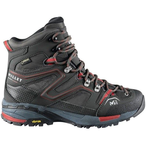 Millet LD Switch GTX Hiking Boot ($230) ❤ liked on Polyvore featuring shoes, athletic shoes, light weight shoes, lightweight hiking boots, light weight hiking boots, hiking boots and color block shoes
