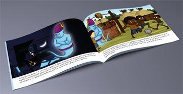 Livre personnalisé pour les enfants à seulement 18 euros. Le moins cher du Web.