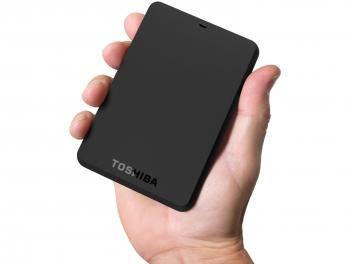 HD Externo 1TB Toshiba CanvioBasics 3.0 - USB 3.0.  Para adquirir clique na imagem do produto e siga as instruções para pagamento e entrega.