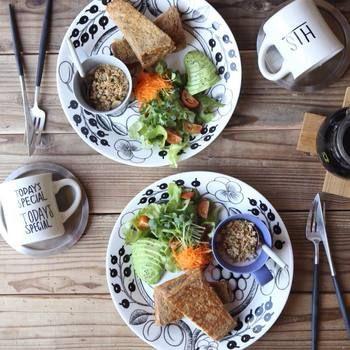 カフェのようにワンプレートで盛り付けるのもおしゃれ!野菜やフルーツなどもワンプレートに加えれば、栄養バランスも抜群!休日のブランチなどにもおすすめ! 今日は、そんなモンティクリストについてご紹介します♪