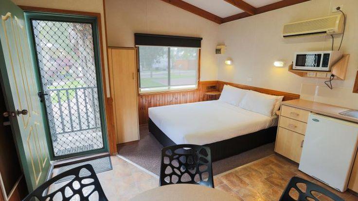 One Bedroom Cabin here at #MelbourneBIG4.