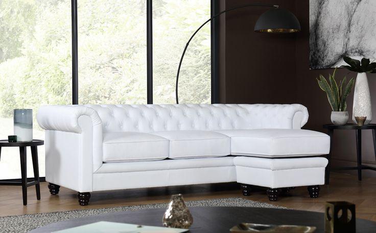 best 25 leather corner sofa ideas on pinterest leather. Black Bedroom Furniture Sets. Home Design Ideas