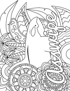 Free Printable Swear Word Coloring Page Coloring Pages To Print