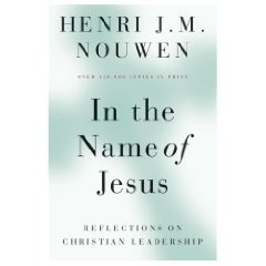 One of my favourite books on leadership. 'In the Name of Jesus' by Henri Nouwen.