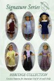 Crochet Patterns for All American Girl & 18 inch Dolls | Purple Kitty