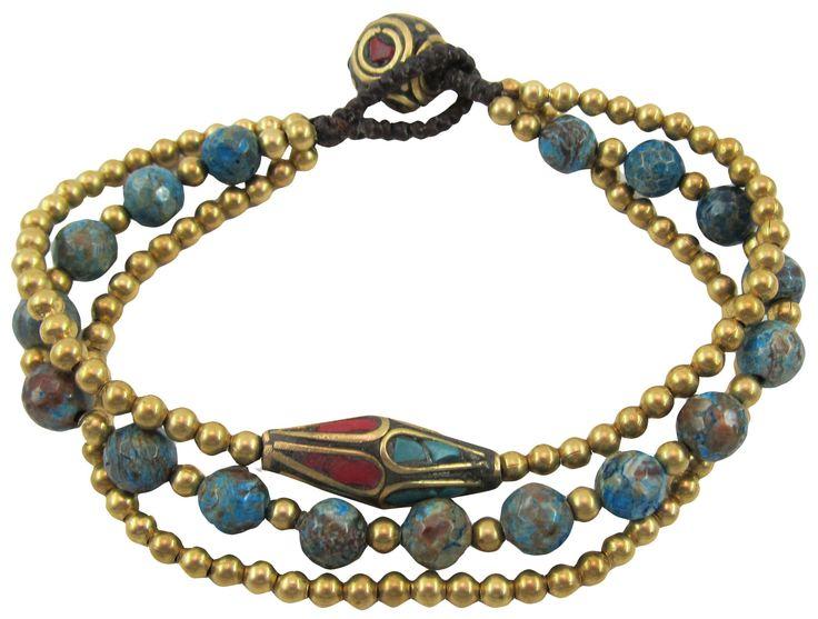 Pretty #fairtrade Nepalese Bead Bracelets by uniquebatik.us (wholesale)
