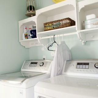 Small Laundry Room Organizing - Laundry Room Storage