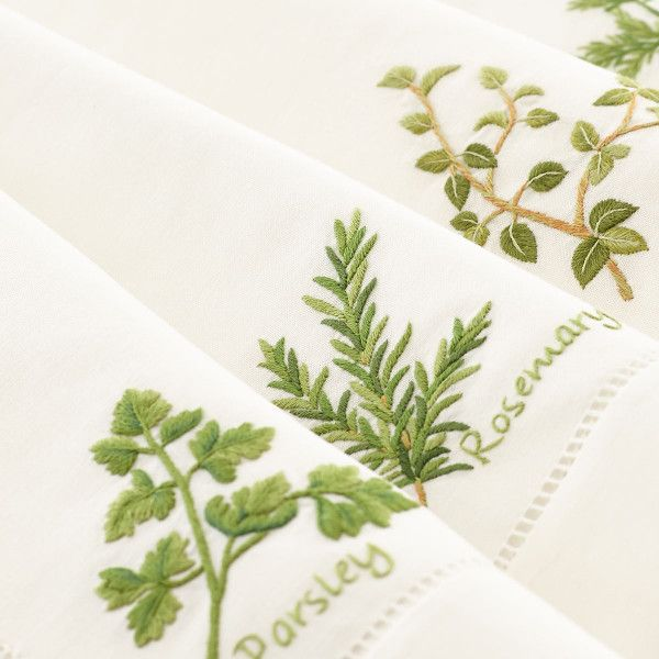 From the Garden Napkins – Herbs