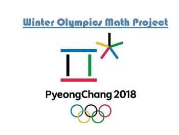 The 2018 Winter Olympics are an exciting time to incorporate math into your classroom. With this product students can do the following: 1. Cover 2. Winter Olympic Math Project steps 3. Winter Olympics Sports list 4. QRs for Winter Olympic sports research 5-7.