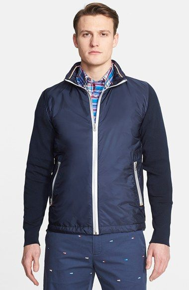 Paul & Shark Jacket with Watershed Waterproof Sleeves available at #Nordstrom