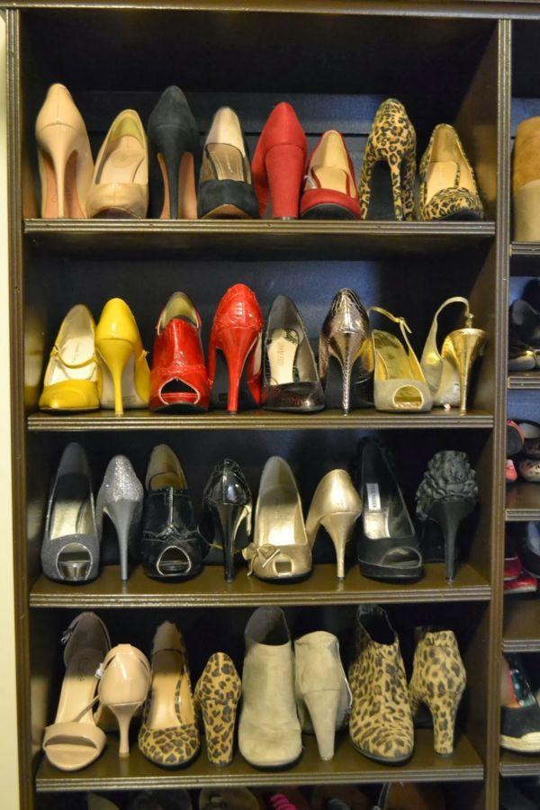 Schuhe aufbewahren \u2013 38 kreative Ideen zum Nachmachen Innendesign