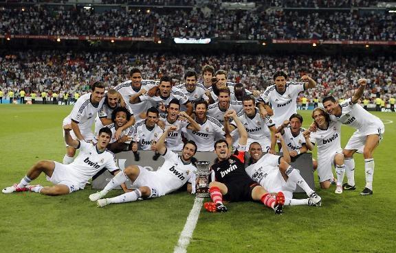 Novena Supercopa de España.