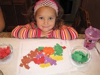 Thanksgiving Mosaic Cornucopia Craft | Confessions of a Homeschooler