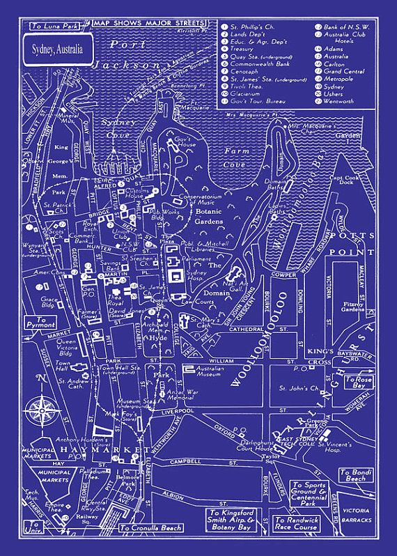 88 best mcl src 2017 images on pinterest legos seattle and aperture 1949 mappa depoca del centro di sydney australia 20x30 blueprint stampa poster malvernweather Gallery