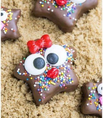 kids chocolate granola starfish recipe 6