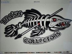 Bowfishing team logo