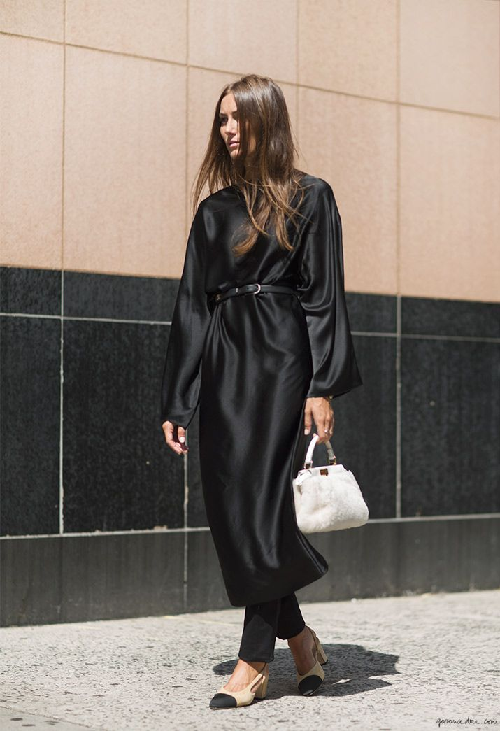 Giorgia Tordini - robe The Row, bell & shoes Chanel, bag Fendi