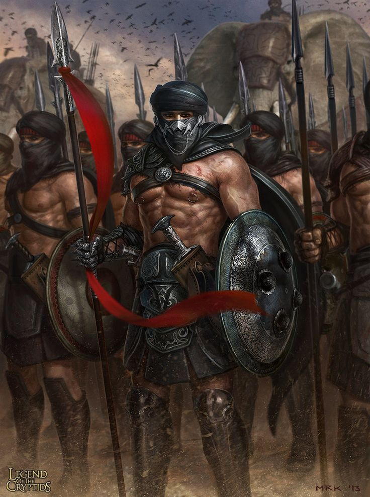The Persian Army by Bogdan-MRK on deviantART, Legend of the Cryptids