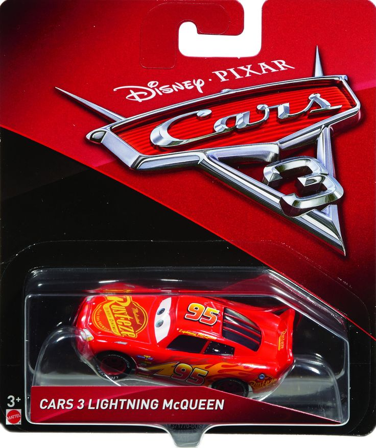 Cars 3 Diecast 155 Scale Lightning Mcqueen 95