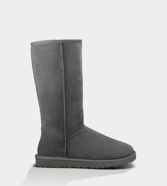 tall gray uggs cheap