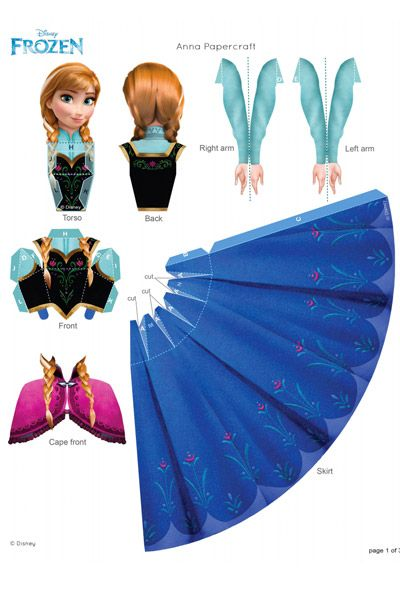 Everything Frozen (Printables etc)