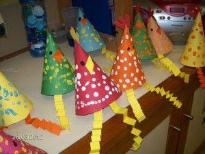 cone_shaped_chicken craft