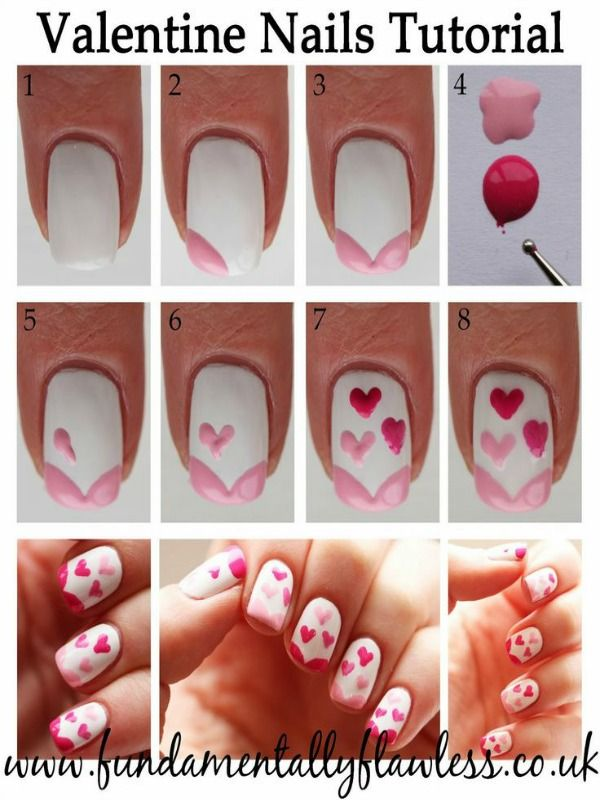 Fabulous Valentine Nail Art Diy Ideas To Make You Thumbs Up Nail