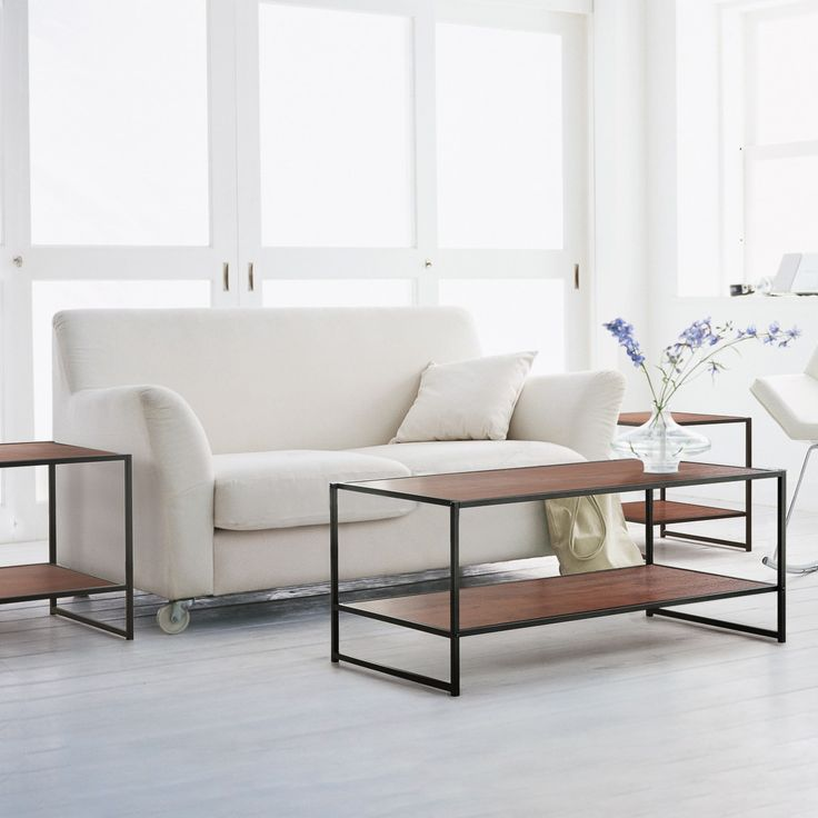 Priage Wood 3-piece Coffee and End Table Set