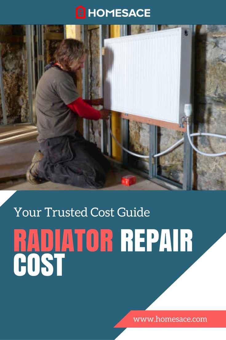 If your home uses a radiator for heat, radiator repair and servicing is needed occasionally. How much does professional advice and skill on the job cost? Homesace.com provides you with all the tips, advice and costs you need to make your next radiator repair project a great success.