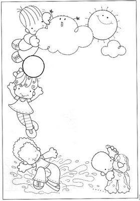 Moldes de painéis para o Dia da Criança   Pra Gente Miúda