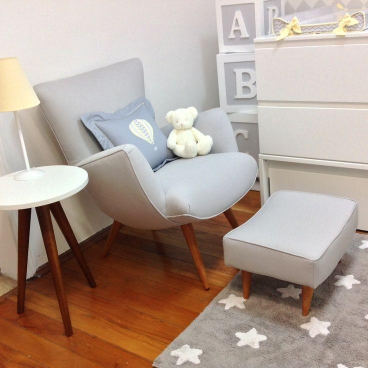 poltrona retrô, retro, poltrona de amamentação retrô, poltrona de amamentar retrô, poltrona para quarto de bebê retrô, quarto de bebê retrô, decoração retrô