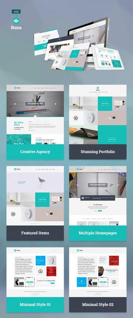 free download   agency  portfolio template  psd