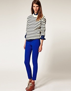 royal blue, one of the hottest colours for autumn.