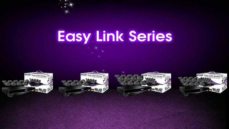 KGUARD Security Easy Link Series. KGuard 16 Channel Easy Link Series 8 Cameras Combo Kit. Price: R 7 319.00