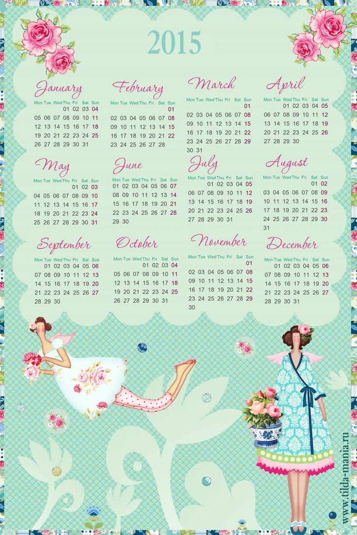 Calendario Tilda 2015 calendar