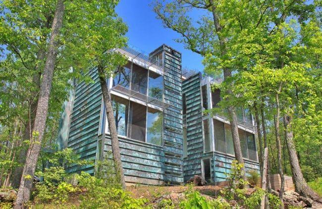 Passivhaus im Wald-Bruneel Residenz-energieeffizient bauen