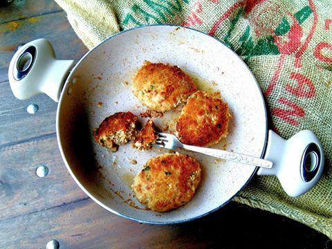 Kotlety mielone z szynki z majonezem fot ©: Igraszki losu