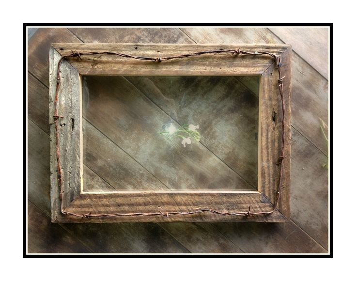 barbed wire frames - Google Search  Barbed wire crafts  Pinterest