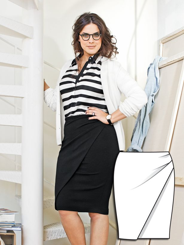 All In Good Style: 9 New Plus Size Patterns – Sewing Blog   BurdaStyle.com