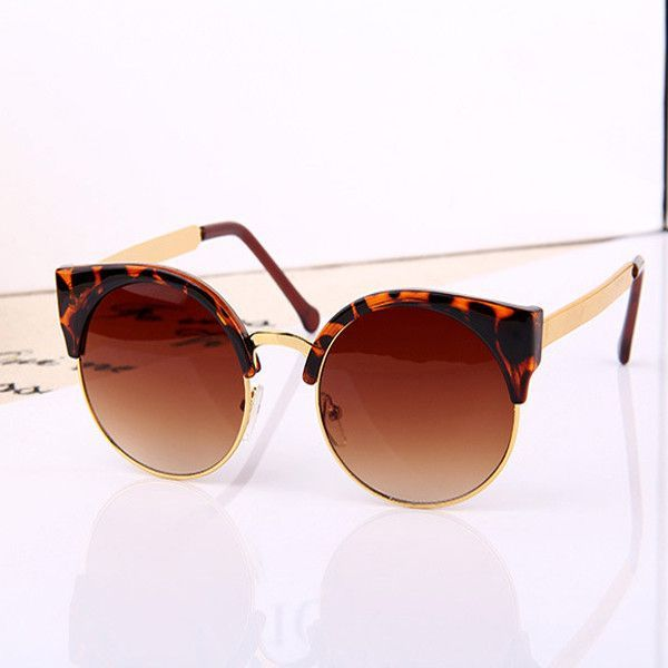 High Quality Stylish Designer's Round Women Sunglasses With Low Price WDSG112